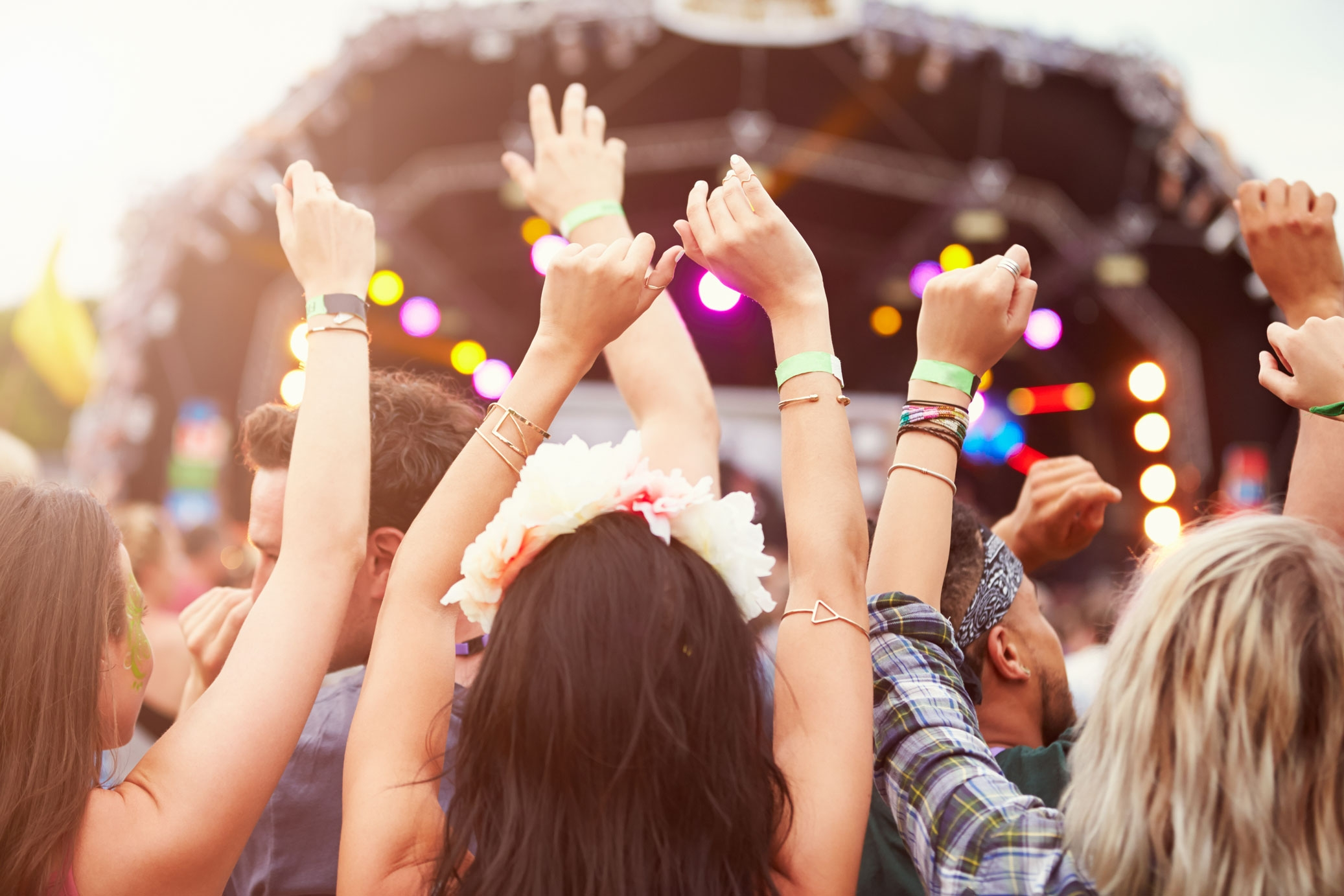 We supply major Music Festivals - in the North East such as Hardwick Hall. Call us on 0191 5238008