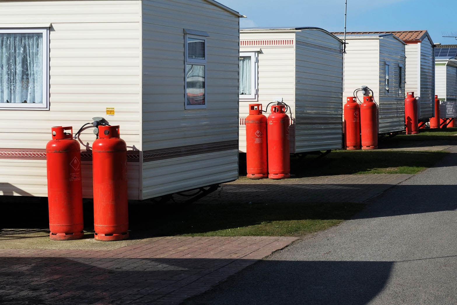 Gas Suppliers North East - We supply mobile homes and campsites Call us on 0191 5238008